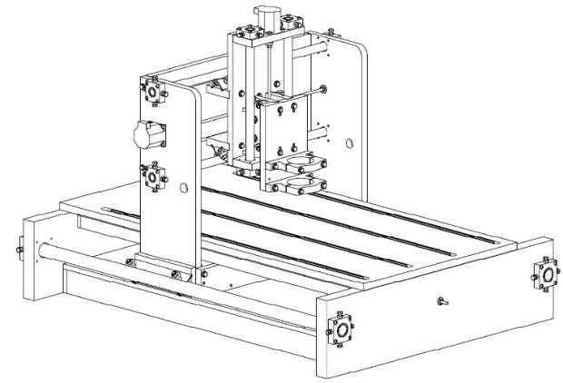 PDF Jgro cnc router DIY Free Plans Download Scroll Saw